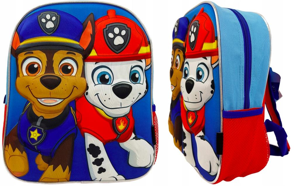 Psi Patrol Plecak 3d Do Szkoły Lub Przedszkola