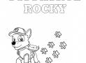 Spacer Rocky'ego – Kolorowanka