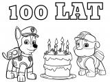 Psi Patrol – Tort urodzinowy. Chase i Rubble