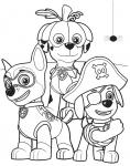 Psi Patrol kolorowanka do druku